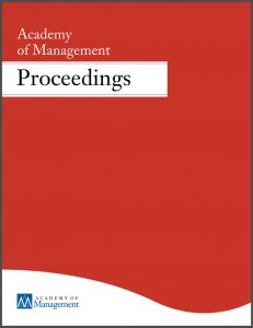 Publikation in Academy of Management - Proceedings