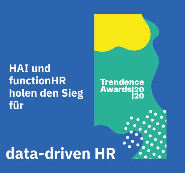 HAI und functionHR holen den Sieg für data-driven HR