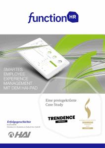 Erfolgsgeschichte HAI nutzt HAI-PAD für smartes Personalmanagement