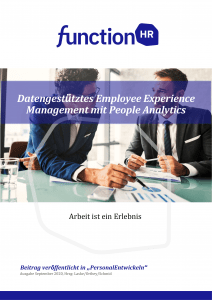 Datengestütztes Employee Experience Management mit People Analytics