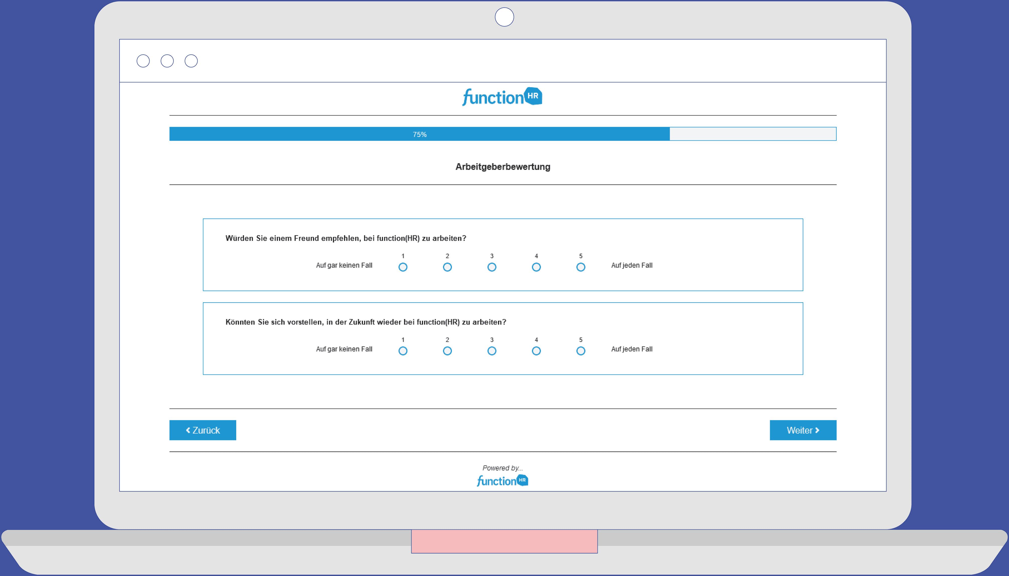 Laptop Survey mitarbeiterbefragung