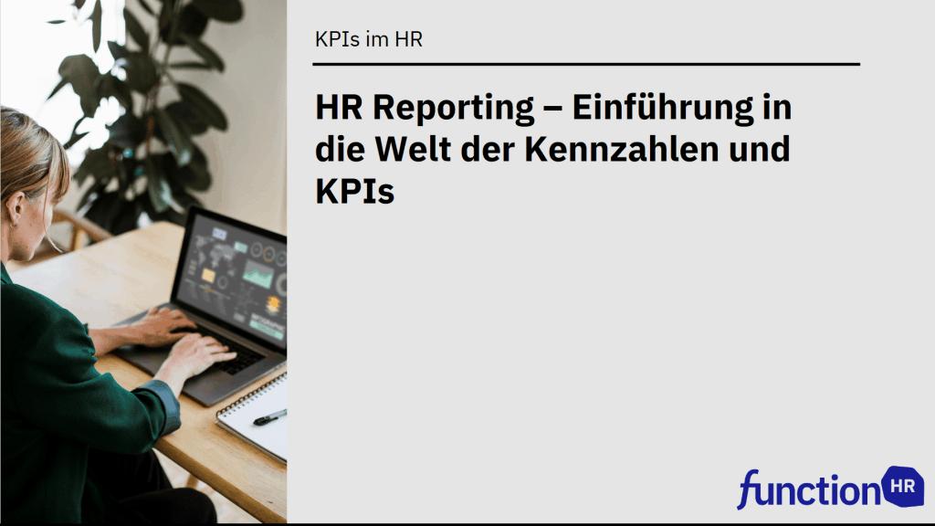 HR Reporting Einführung